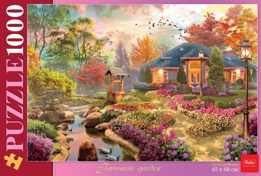 Пазл Hatber Любимый сад 1000 элементов пазл hatber райский сад 340x460mm 500пз2 16969