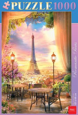 Пазл Hatber Романтичный Париж 1000 элементов книги эксмо стильные косы и косички не выходя из дома