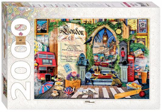 Пазл Step Puzzle Лондон Жизнь 2000 элементов 84033 puzzle 2000 рододендроны adamus 29662
