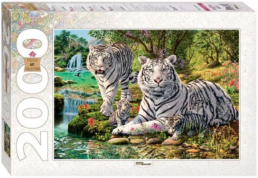 Пазл Step Puzzle Сколько тигров? 2000 элементов 84034 puzzle 2000 замок ужаса loup 26127