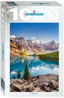 Пазл Step Puzzle Озеро в горах 1000 элементов 79120 puzzle 1000 медведи на рыбалке мгк1000 6471