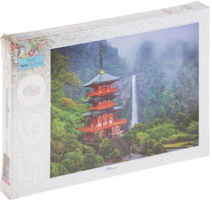 Пазл Step Puzzle Пагода у водопада 560 элементов 78094 пазл 120 элементов step puzzle золотая серия 10 машины 75010