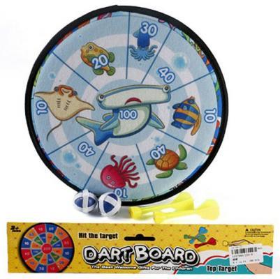 Купить Спортивная игра Shantou Gepai дартс Морские обитатели , 27.5 х 27.5 х 0.5 см., Прочие спортивные игры
