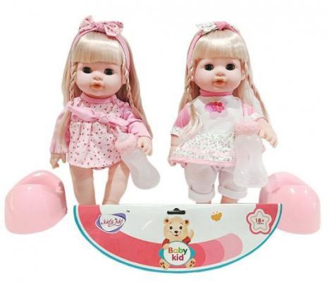 Кукла Shantou Gepai Мими 35 см со звуком писающая пьющая кукла shantou gepai my baby 30 см со звуком пьющая писающая