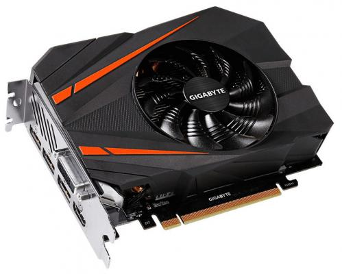 Видеокарта GigaByte GeForce GTX 1080 GTX 1080 Mini ITX 8G PCI-E 8192Mb 256 Bit Retail (GV-N1080IX-8GD) видеокарта gigabyte geforce gtx 1070 mini itx oc 8g gigabyte видеокарта gigabyte geforce gtx 1070 mini itx oc 8g
