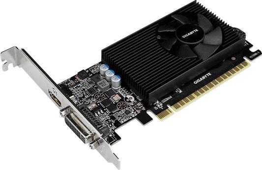 Видеокарта GigaByte GeForce GT 730 GV-N730D5-2GL PCI-E 2048Mb 64 Bit Retail (GV-N730D5-2GL) видеокарта gigabyte geforce gt 730 gv n730d5 2gl pci e 2048mb 64 bit retail