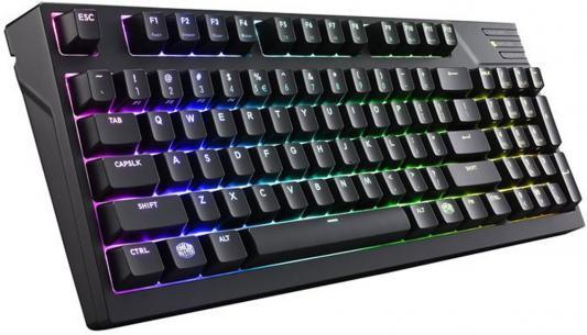 Клавиатура проводная Cooler Master MasterKeys Pro M RGB USB черный