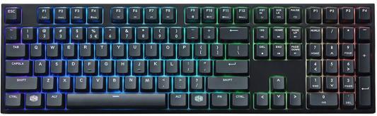 все цены на Клавиатура проводная Cooler Master MasterKeys Pro L USB черный SGK-6020-KKCR1-RU онлайн