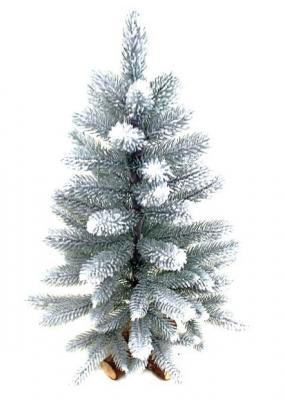 Ель Новогодняя сказка Декоративная заснеженная белый 60 см
