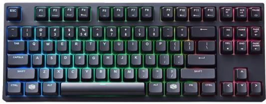 все цены на Клавиатура проводная Cooler Master MasterKeys Pro S RGB USB черный SGK-6030-KKCR1-RU онлайн