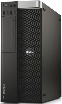 Системный блок DELL Precision T7810 E5-2620v4 2.1GHz 32Gb 2Tb 256Gb SSD DVD-RW Win7Pro Win10Pro черный 7810-4551 системный блок dell optiplex 3050 intel core i3 3400мгц 4гб ram 128гб win 10 pro черный