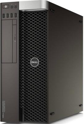 Системный блок DELL Precision T5810 E5-1650v4 3.6GHz 32Gb 2Tb 512Gb SSD DVD-RW Win7Pro Win10Pro черный 5810-4544 системный блок dell optiplex 3050 intel core i3 3400мгц 4гб ram 128гб win 10 pro черный