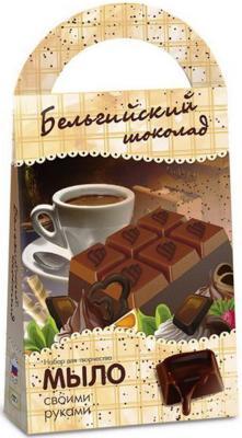 Набор для изготовления мыла Аромафабрика Кондитерская - Бельгийский шоколад от 5 лет ассортимент, С0207 набор для изготовления мыла аромафабрика слоник от 5 лет
