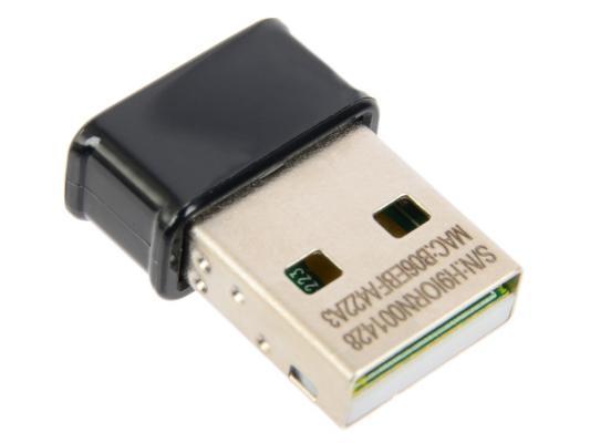Беспроводной USB адаптер ASUS USB-AC53 Nano 802.11ac 867Mbps 2.4/5ГГц беспроводной usb адаптер asus usb ac56 802 11ac 867mbps 2 4 и 5ггц