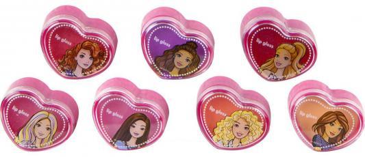 Игровой набор детской декоративной косметики Markwins Барби 7 предметов 593915