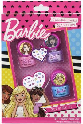 Игровой набор детской декоративной косметики Markwins Барби, для ногтей 5 предметов 9708351