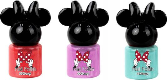 Игровой набор детской декоративной косметики Markwins Минни, для ногтей 3 предмета 9703051