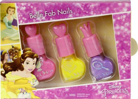 Игровой набор детской декоративной косметики Markwins Принцессы Диснея, для ногтей 3 предмета 9704451 markwins princess игровой набор детской декоративной косметики для ногтей
