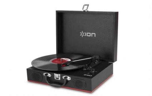 Виниловый проигрыватель ION Vinyl Transport IONvt ion audio vinyl motion deluxe