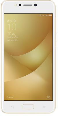 Смартфон ASUS Zenfone 4 Max ZC520KL золотистый 5.2 16 Гб LTE Wi-Fi GPS 3G 90AX00H2-M00390 смартфон asus zenfone 3 max zc553kl серебристый 5 5 32 гб lte wi fi gps 3g 90ax00d3 m00300