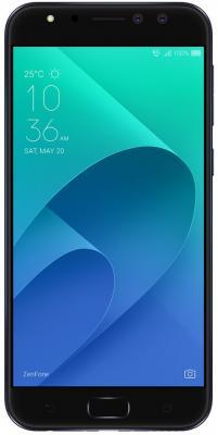 Смартфон ASUS ZenFone 4 Selfie Pro ZD552KL черный 5.5 64 Гб LTE Wi-Fi GPS 3G 4G 90AZ01M7-M01000 аксессуар защитная пленка asus zenfone 4 selfie pro zd552kl luxcase суперпрозрачная 55825