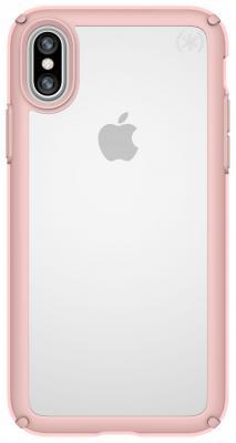 Накладка Speck Presidio Show для iPhone X прозрачный розовое золото 103134-6244 presidio