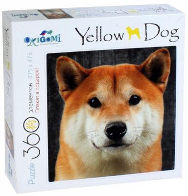 Пазл ОРИГАМИ Собаки Хаски - Акита Ину 360 элементов купить акиту ину от японских родителей