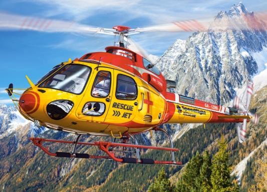 Пазл Кастор Вертолет 260 элементов пазл 60 элементов кастор три поросенка в 06106