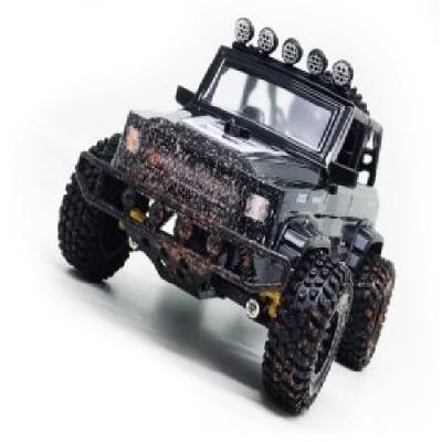 Машинка на радиоуправлении Пламенный мотор Джип Сафари пластик, металл от 3 лет черный пламенный мотор пламенный мотор джип сафари радиоуправляемый черный
