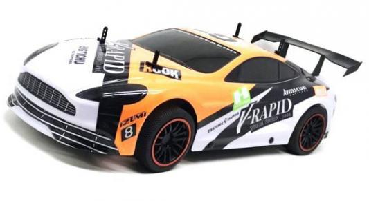 Машинка на радиоуправлении Пламенный мотор Спорткар пластик, металл от 3 лет разноцветный пламенный мотор машинка инерционная volvo полиция дпс гу бдд