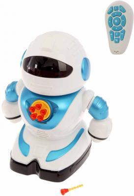 Купить Робот на радиоуправлении Shantou Gepai свет, звук, стреляет пульками, эл.пит.не вх.в комплект SPA991190M-W, Радиоуправляемые игрушки