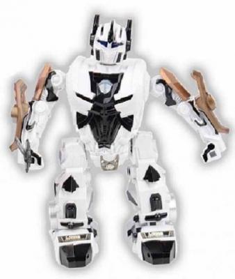Робот на радиоуправлении Shantou Gepai Бласт пластик от 3 лет белый робот на радиоуправлении shantou gepai робот белый от 3 лет пластик металл
