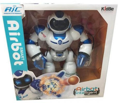 Робот на радиоуправлении Shantou Gepai Airbot пластик от 3 лет белый робот на радиоуправлении shantou gepai робот белый от 3 лет пластик металл