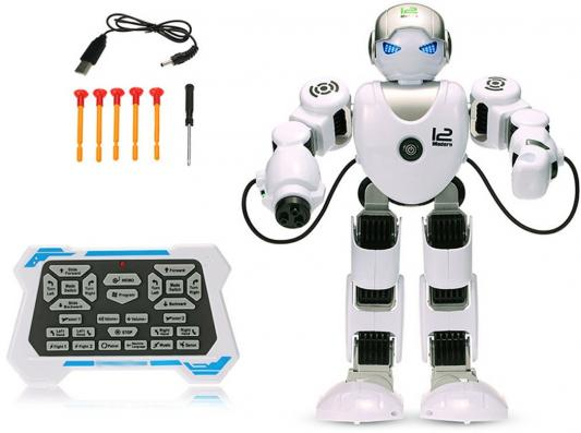 Купить Робот на радиоуправлении Shantou Gepai Alpha Robot пластик от 3 лет белый, Радиоуправляемые игрушки