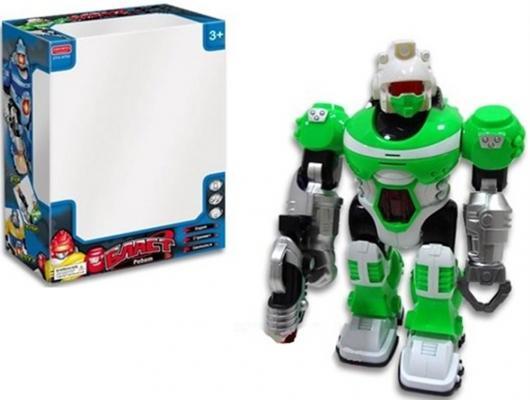 Робот электронный Zhorya Бласт зеленый со звуком светящийся двигающийся ZYC-0752-2