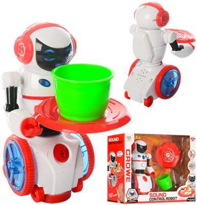 Робот электронный Shantou Gepai Мой помощник 19.5 см двигающийся со звуком светящийся ассортимент, 383-27 боевой робот shantou gepai воин галактики 30 см двигающийся со звуком светящийся 6007