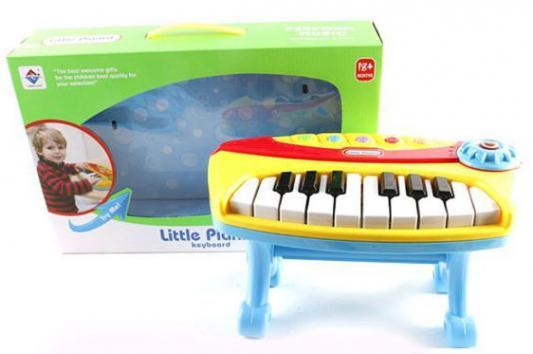 Пианино Shantou Gepai 6927715054231 музыкальные игрушки shantou gepai набор музыкальные инструменты 5 предметов