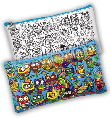 Набор для творчества Данко Тойс «My color clutch» Совы CCL-01-03 от 6 лет набор для творчества данко тойс my color clutch пони от 5 лет