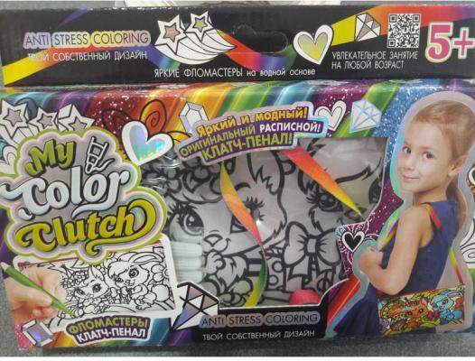 Набор для творчества Данко Тойс «My Color Clutch» Зайка и белочка CCL-02-06 от 5 лет набор для творчества данко тойс my color clutch пони от 5 лет