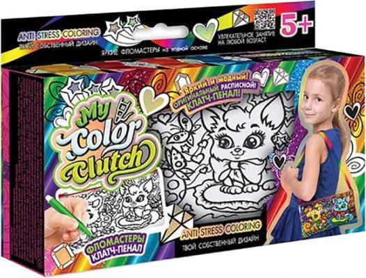 Купить Набор для творчества Данко Тойс «My Color Clutch» Кошечка и собачка CCL-02-04 от 5 лет, ДАНКО-ТОЙС, Раскрась сумочку