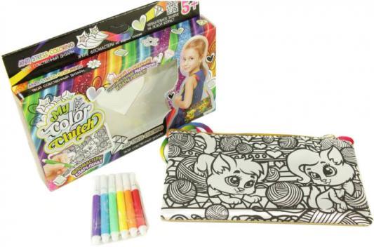 Набор для творчества Данко Тойс «My Color Clutch» Кошки и клубочки CCL-02-05 от 5 лет набор для творчества данко тойс my color clutch пони от 5 лет