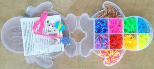 Набор для творчества Shantou Gepai Плетение браслетов, с подвесками 942486 от 8 лет стоимость