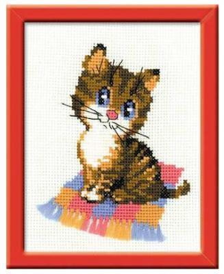 Набор для вышивания Сотвори Сама Котенок от 7 лет П-068 набор для вышивания сотвори сама бантик от 7 лет