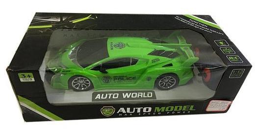 Машинка на радиоуправлении Shantou Gepai Auto World пластик от 3 лет зелёный машинка на радиоуправлении shantou gepai auto world от 3 лет зелёный пластик 4 канала свет 1 12