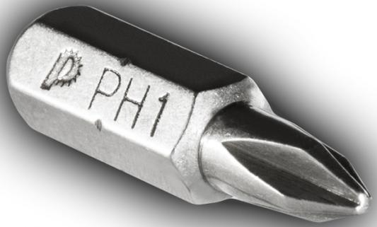 Набор бит Практика PH-1-25 мм Профи 2шт 035-561