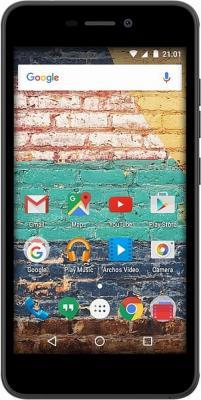Смартфон ARCHOS 50f Neon черный 5 16 Гб Wi-Fi GPS 3G 503402 смартфон archos 40 neon 8гб черный dual sim 3g