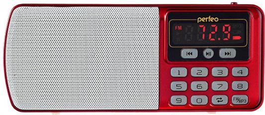 Радиоприемник Perfeo Егерь FM+ красный i120-RED