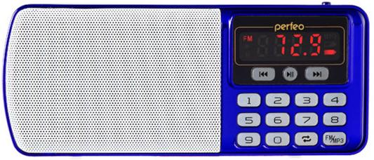 Радиоприемник Perfeo Егерь FM+ синий i120-BL радиоприемник perfeo егерь fm красный i120 red