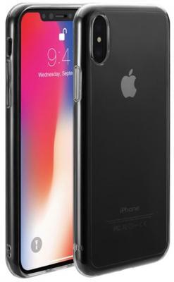 """Накладка Just Mobile """"Tenc"""" для iPhone X прозрачный PC-288CC"""
