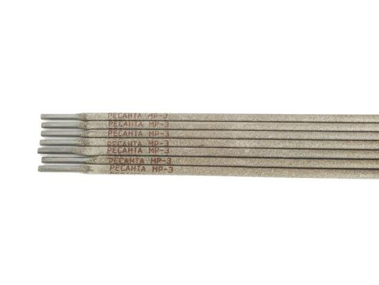 Электрод Ресанта МР-3 Ф5,0 0.8 кг 71/6/23 электрод ресанта мр 3 ф5 0 3 кг 71 6 18